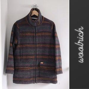 Woolrich Striped Century Wool Jacket Small